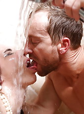 Unforgettable fucking scene with mesmerizingly gorgeous brunette milf Tiffany Tyler