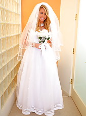 Extremely hot and exciting bride Brynn Tyler shows off her hot secrets
