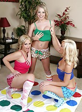 Threesome lesbian with girls named Jessica Lynn, Sarah Vandella, Shawna Lenee