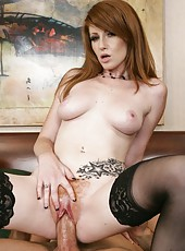 Passionate fuck with a gorgeous and busty milf named Nikki Rhodes