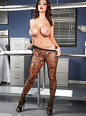 Ava Addams is amazing milf with sexy face, huge boobs and massive butt
