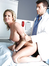 Milf with big ass and huge tits Zoey Holiday fucked by an ambitious doctor