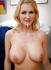 Busty milf Blake Rose came to visit her old lover and gets fucked by a doctor
