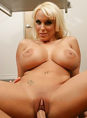 Demonic prostitute Holly Halston prefers to bang with young boys
