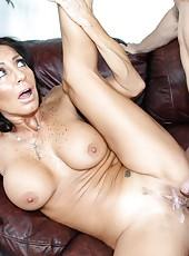 Jolly whore Tara Holiday making a deep blowjob and getting nailed
