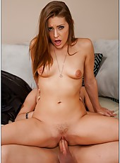 Awesome babe with hot face Gracie Glam is perfect in every position