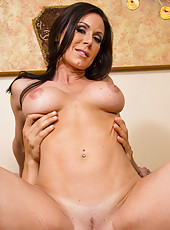 Remarkable slut Kendra Lust to be banged in doggy style and to swallow cum