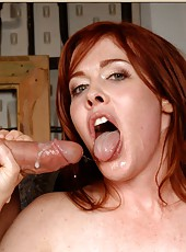 Sympathetic minx Mae Victoria prefers to be pounded like all whores