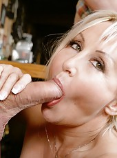 Delicate milf Claire LaFemmeDC prefers to be drilled in all possible holes