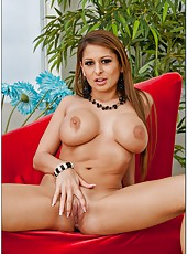Awesome office milf Alison Star sucks, rides and gets facialized