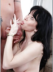 Attractive wife RayVeness getting pounded hard like never before