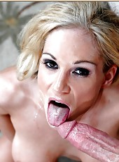 Crazy babe Tyler Faith doing some wild things while fucking hard with a man
