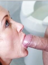 Remarkable philander Michelle Lay likes dealing with big juicy dicks
