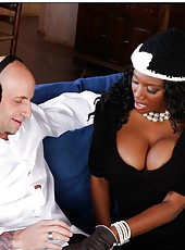Dirty whore Nyomi Banxxx adores tasting and riding big delicious peckers