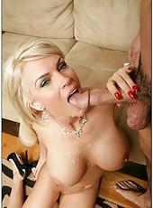 Mesmerizing slut Diamond Foxxx getting dirty with her neighbors
