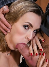 Marvelous lover Tanya Tate getting dirty with her new sexy neighbor