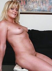 Mature mistress Ginger Lynn fucked in the tightest hole with a huge cock