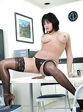 Hardcore anal fucking adventure for busty brunette milf Tory Lane