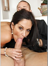 Big-boobed hooker Ava Addams getting nailed in all possible holes
