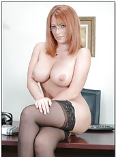 Super appetizing Kylie Ireland is tired of hardworking and wants some pleasure