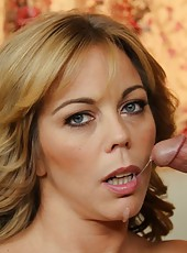 Glamorous babe Amber Lynn Bach prefers to be fucked in different positions