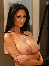 Skillful Ava Addams showing her body in a lot of different positions