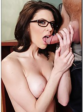 Passionate milf Dallas gets a dick in the hole after a great blowjob