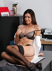 Awesome and crazy fuck with a dangerous lady named India Summer