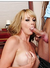 Charming hooker Shayla LeVeaux is always glad to swallow her friend