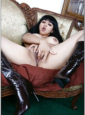 Delicious Mika Tan revealing her awesome Asian body with her gorgeous boobs