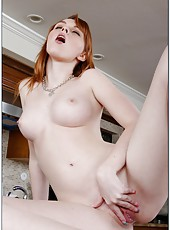 Attractive girl Marie McCray showing her creamy skin and posing naked