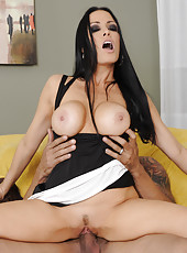 Hardcore and wild fuck with a busty brunette milf named Vanilla DeVille