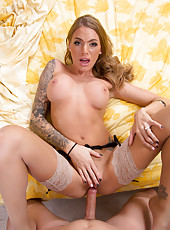 Astounding and gorgeous sex goddess Juelz Ventura gets naked and fucks