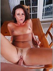 Brunette milf with elegant tattoos Lola Martin spends sweet time with her fucker