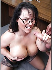 Fatty milf with incredible, fantastic and unforgettably giant boobs - Indianna Jaymes