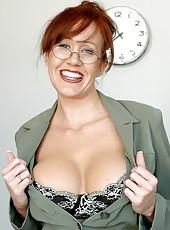Mature teacher Bailey O