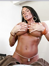 Lisa Lipps is a super horny milf with giant tits and she loves to fuck