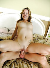 Chris dreams about a passionate fuck with a gentle milf Payton Leigh
