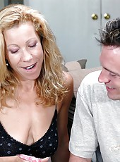 Donny Long is glad to fuck his horny teacher named Kimmie Morr