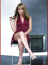 Shayla LaVeaux is a sexy older woman, who loves to play with her gentle pussy
