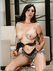 Fabulous dark haired angel Angela D