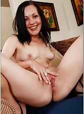 Breathtaking babe Claudia Atkins undressing and fingering like nobody else