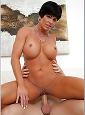 Carnal babe Shay Fox loves getting pounded with big hard peckers
