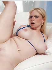 Wonderful slut Cameron Keys gets picked up and nailed like a young chick