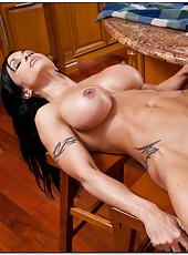 Superb whore Jewels Jade enjoying young cocks and getting dirty