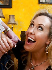 Good-looking minx Brandi Love wants to be drilled like never before