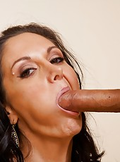 Excellent wife Ava Addams enjoys a big wiener and gets fully satisfied