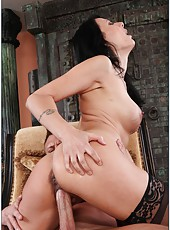 Winsome slut Zoey Holloway gets dirty with her handsome neighbor