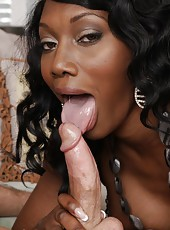 Brave ebony Nyomi Banxxx dealing with handsome boys and their dicks