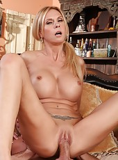 Crazy philander Brooke Tyler wants to be pounded hard all day long